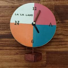 時計#ララランド#カラフル#自作#... 映画[LA LA LAND]ララランド~…(2枚目)