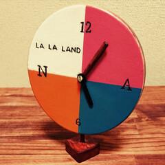 時計#ララランド#カラフル#自作#... 映画[LA LA LAND]ララランド~…(1枚目)