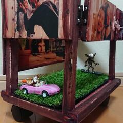 ワトコオイルマホガニー/自作/Leon/映画/DIY/プランター/... 映画【LEON】 ミニプランターを自作し…