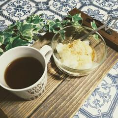 おやつタイム/お菓子作り/お菓子/手作りスイーツ/おやつ作り/おやつ/... おうちカフェ☕️  1枚目 牛乳もち🍵 …