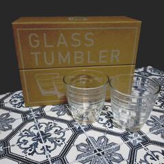 食器/キッチン雑貨/グラス/おすすめアイテム/3COINS/雑貨/... 3COINS購入品その3💖  グラス6P…