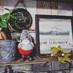 ナチュラルキッチン/クリスマス飾り/クリスマスインテリア/クリスマス雑貨/クリスマス/サンタクロース/... ナチュラルキッチンで見つけたサンタさん🎅…