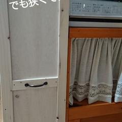 棚/キッチン/ハンドメイド/収納/DIY/リノベーション おはようございます🙇 悩んだ末に平屋に引…