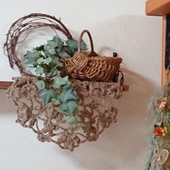 雑貨/麻ヒモ/フェイクグリーン/古本/アイアンペイント/ドライフラワーの飾り方/... おはようございます🙇 紫陽花片付けが一段…