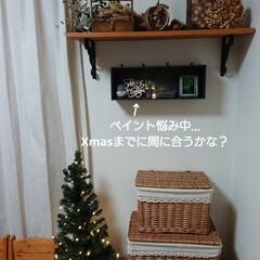 クリスマスツリー/クリスマス2019/リミアの冬暮らし/ダイソー/セリア/100均/... またまたこんばんは🙇 ダイソーに大掃除の…