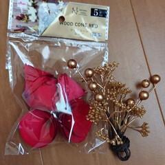 正月飾り/しめ縄飾り/リミアの冬暮らし/ダイソー/セリア/100均/... こんばんは🙇 今日は、リボンも買えたけど…