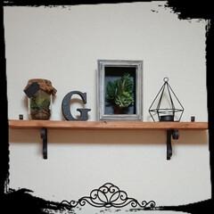 ガラス瓶/フェイクグリーン/雨季ウキフォト投稿キャンペーン/雑貨/LIMIA手作りし隊/ハンドメイド/... おはようございます🙇 今日は良い天気にな…