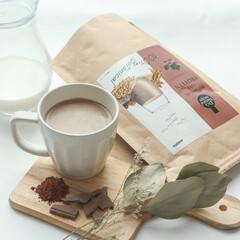 ドクターズナチュラルレシピ/drsnaturalrecipe/アンファー/angfa/ホットドリンク/チョコ/... *デザート感覚で美味しくタンパク質を補給…