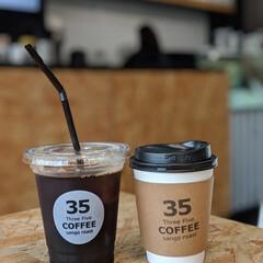おでかけ/フード/スイーツ/おでかけワンショット/Coffee/コーヒー/... 妹を空港🛫へ送る日は お土産に前にも載せ…