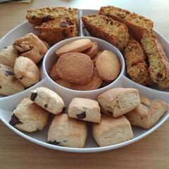 お菓子/手土産/手料理/手作り/クッキー/スコーン/... 友人宅の手土産にお菓子を手作りして持って…