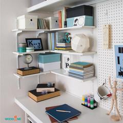 棚板/棚柱/L型収納/本棚/物置/収納/... -棚柱と棚板の活用事例をご紹介-  棚柱…
