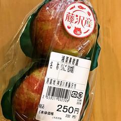 藤沢産りんご/松本錦/湘南果樹園 今日はお友達とJAへ。  藤沢産(神奈川…