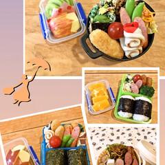 リモートワーク/のり弁/お弁当 今月のお弁当です。  今月から主人はリモ…(1枚目)