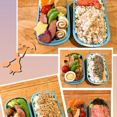 お弁当箱の蓋/お弁当 今週の 蓋がしめにくいお弁当たちです。