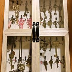 鍵コレクション/鍵/コレクションボックス/セリア 鍵フェチの娘。 いらなくなった鍵や 手芸…