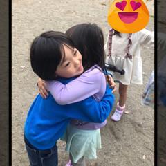 お友達/孫 保育園の女の子と😍💕 仲良く遊びました❣…