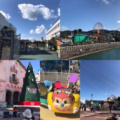 遊園地/子供達/おでかけ 和歌山市マリーナシティ⛵️ ポルトヨーロ…