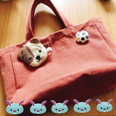 贈り物/リサイクル/ハンドメイド 以前 娘に保育園バック作っだ時の余り布で…
