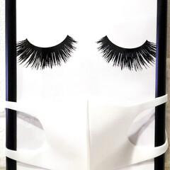 洗えるマスク/シルクマスク/adidasマスク/おしゃれ雑貨/生活の知恵/雑貨/... マスク 飽きた(◞‸◟) ってか、顔はか…