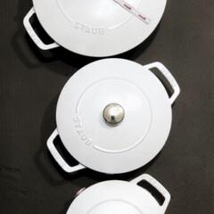 ストウブ Wa-NABE M 40501-005 | STAUB(両手鍋)を使ったクチコミ「おはようございます⸜(*ˊᵕˋ* )⸝…」