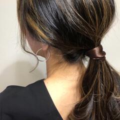 ヘアーゴムアレンジ/ヘアゴム/ヘアーゴム/秋冬ファッション/秋ファッション/ファッション雑貨/... 髪が細くて、長くて、少ないので꜆꜄꜆꜄꜆…
