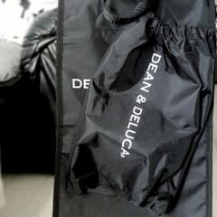 あったら便利/必需品/モノトーン好き/モノトーン収納/ディーンアンドデルーカ/ショッピングカートキャリーバック/... ディーン&デルーカ のショッピングカート…