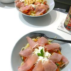 イッタラ プレート ティーマ Teema ディーププレート 深皿 21cm パールグレー 1005883 母の日ギフト | イッタラ(皿)を使ったクチコミ「iittala イッタラの皿は、スパゲテ…」
