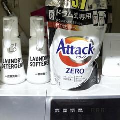 アタック ZERO ドラム式専用 詰替え 860g | アタック(液体洗剤)を使ったクチコミ(1枚目)