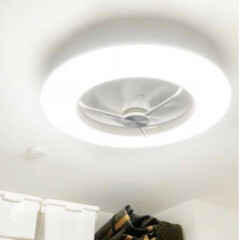 ルミナス Luminous ドウシシャ LEDシーリングサーキュレーター8畳用 シーリングライト サーキュレーター | Luminous(シーリングファン)を使ったクチコミ「Luminous ルミナスの扇風機 サー…」