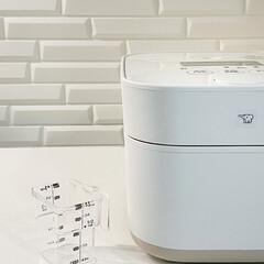 STAN. IH炊飯ジャー NW-SA10-BA | 象印(炊飯器)を使ったクチコミ「炊飯ジャー STANを買いましたハ( *…」