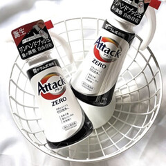 アタック ZERO ドラム式専用 本体 380g | アタック(液体洗剤)を使ったクチコミ「ウチはアタックゼロ愛用品です♥  いちい…」