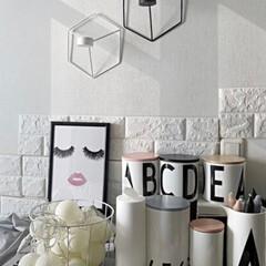 メラミンコップ メラミン 食器 コップ カップ 子供 こども キッズ DESIGN LETTERS デザインレターズ メラミンカップ | Design Letters(コップ)を使ったクチコミ「ウチのデザインレターズコーナー(´ ˘ …」