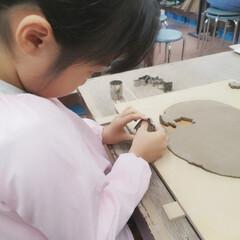 大阪/梅田/体験教室/手作り体験/手作り/陶芸/... 今日は小学校創立記念日で 休みの三女。 …