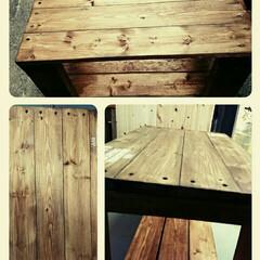 ローテーブル/DIY/ダイソー/インテリア/家具/ハンドメイド