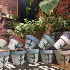 へデラ/リメイク鉢/見て頂き有難うございます/感謝♡/グリーン/雑貨/... おはようございます! リメイク鉢♡ ザラ…