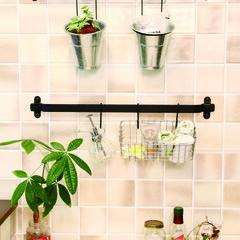 アンティーク/タイル/インテリア/対面キッチン/オープンキッチン/トクラス/... タイルを貼ることで清掃性アップとなにより…