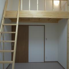 マンションロフト/ロフト/2×4/江戸川区/清新町 マンションの一室に生まれたロフト。下はク…