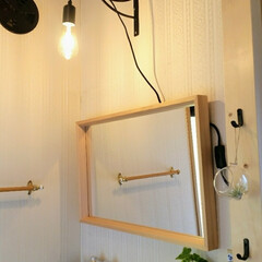洗面台/100均 昔の黄ばんだよくあるユニット洗面台の上部…