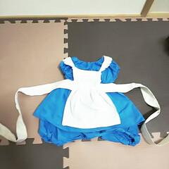 赤ちゃんグッズ/ベビー服/ふしぎの国のアリス/ハロウィンコスチューム/ハロウィン仮装/ハンドメイド/... ハロウィンが近いので、娘の合うサイズでか…