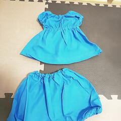 赤ちゃんグッズ/ベビー服/ふしぎの国のアリス/ハロウィンコスチューム/ハロウィン仮装/ハンドメイド/... ハロウィンが近いので、娘の合うサイズでか…(2枚目)