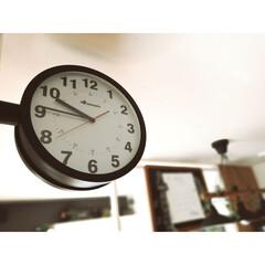 ディアウォール/男前インテリア/時計/ダルトン/フォロー大歓迎/DIY/... お気に入り、ダルトンの両面時計です✨✨ …