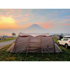 テント/アウトドア/富士山/DOD/ふもとっぱら/キャンプ/...   この間キャンプに行ってきました⛺🐰 …(1枚目)