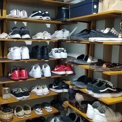 靴の収納 自粛ジシュクのGW、以前からお願いしてい…