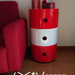 赤色/インテリア/家具/収納/ファッション やっと出会えた❗私のお気に入り 収納イン…