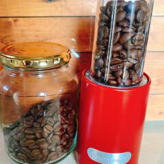 カルディ カルディでコーヒーを豆のまま購入して ブ…(1枚目)