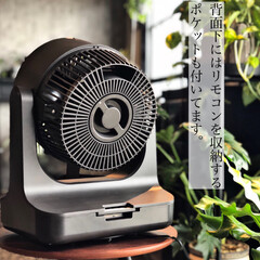 ドウシシャ/サーキュレーター/間接照明のある暮らし/間接照明/観葉植物のある暮らし/団地インテリア/... もう使っている方も多いと思いますがサーキ…(4枚目)