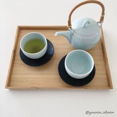 急須/日本製/モノトーンインテリア/茶器/北欧/白黒雑貨/... 愛用している急須です。磁器の絶妙な色合い…