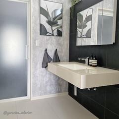 イソップ レスレクション ハンドウォッシュ 500ml AESOP RESURRECTION AROMATIQUE HAND WASH(ハンドケア)を使ったクチコミ「我が家の洗面所です。洗面所はタイル床なの…」