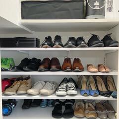 土間収納/靴収納/靴収納棚/シューズクローゼット/シューズクローク 玄関の下駄箱を撤去するにあたって、靴をす…