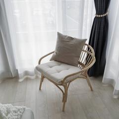 IKEA/ラタンチェア/籐椅子/北欧インテリア/パーソナルチェア IKEAで買ったラタンチェア。安かったで…